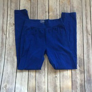 Justice Bright Royal Blue Leggings Size 12